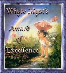 Whyte Myst's Award of Excellence