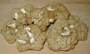 Oatmeal Apple-Butterscotch Cookies