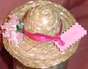 Easter Bonnet Place Card