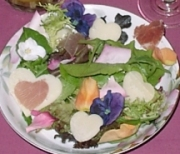 Hearts and Flowers Salad